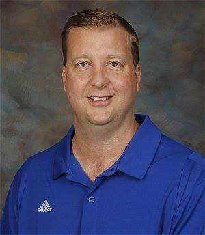 Charlestown athletic director Chad Gilbert
